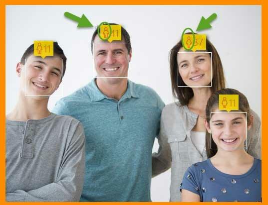сейчас работает оценка возраста по фото настоящий момент