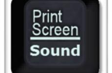 Делаем скриншот экрана компьютера со звуковым эффектом
