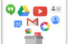 Как скачать Google архив своих данных